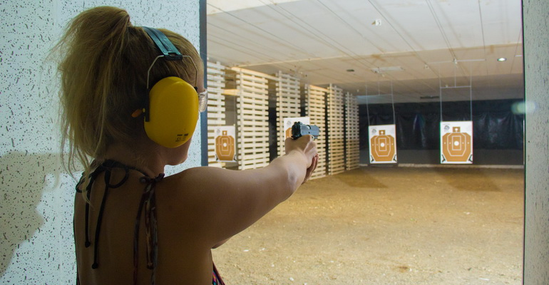 H&S System Helps Prevent Theft at Indoor Shooting Range • H&S